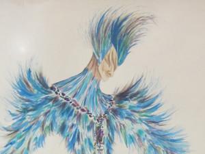Mettre l'oiseau bleu en cage