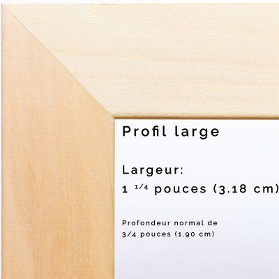 Profil large
