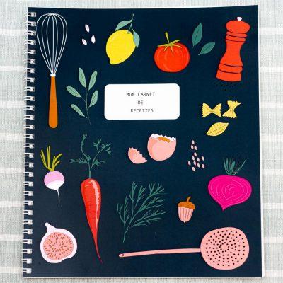 Mon cahier de recettes - Lili graffiti